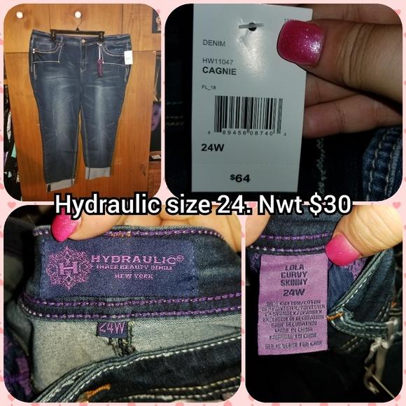 Hydraulic Denim - Hydraulic size 24 skinny jeans